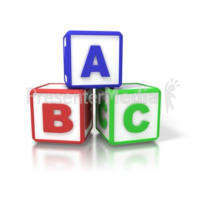 Abc Blocks Clipart - Clipart Kid