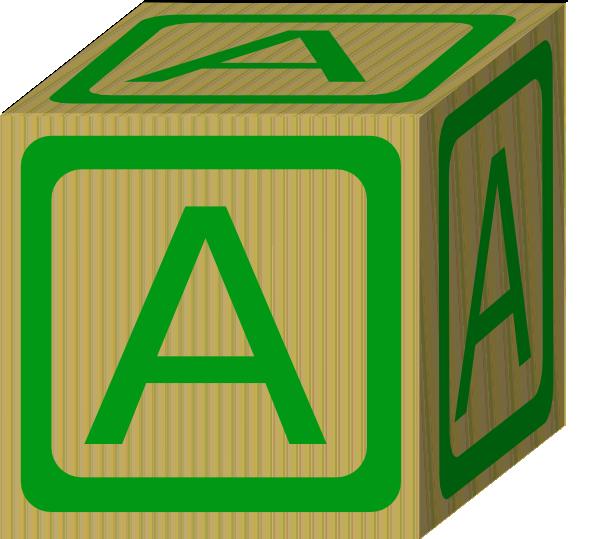 Clip Art Block Clipart clip art sun block clipart kid alphabet a at clker com vector online