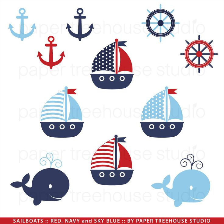 Cute Nautical Clipart - Clipart Kid