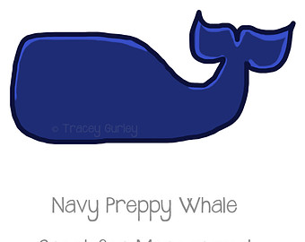 Baby Shower Whale Clipart