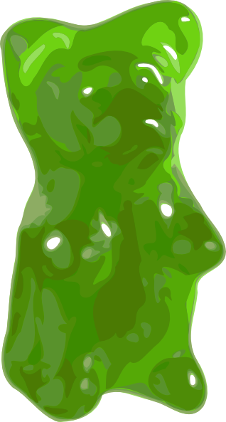 Clip Art Gummy Bear Clipart gummy bear clipart kid candy clip art at clker com vector online