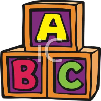 Block Area Clip Art Alphabet Clipart