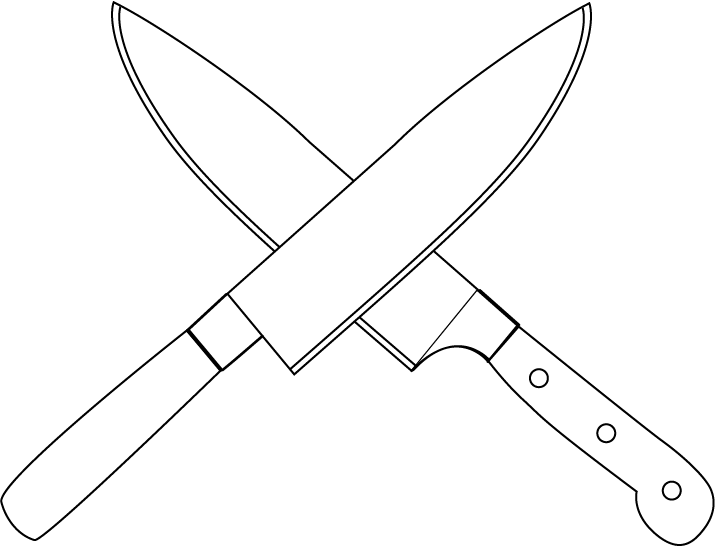Chef Knife Clipart Chef Knife Clip Art 715 X
