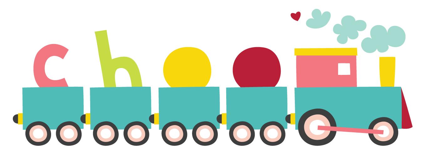 Cute Train Clipart - Clipart Kid