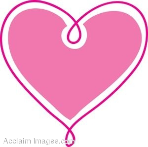 Cute Pink Heart Clipart   Clipart Panda   Free Clipart Images