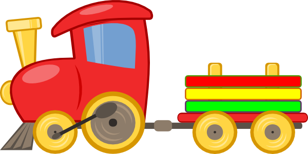 Cute Toy Train Clip Art   Clipart Panda   Free Clipart Images