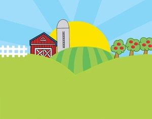 Farm Clip Art Images Farm Stock Photos   Clipart Farm Pictures