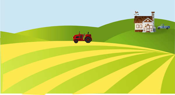 Farm Scenery Clip Art At Clker Com   Vector Clip Art Online Royalty