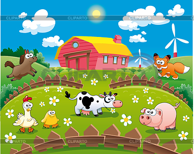 Farm   Stock Photos And Vektor Eps Clipart   Cliparto