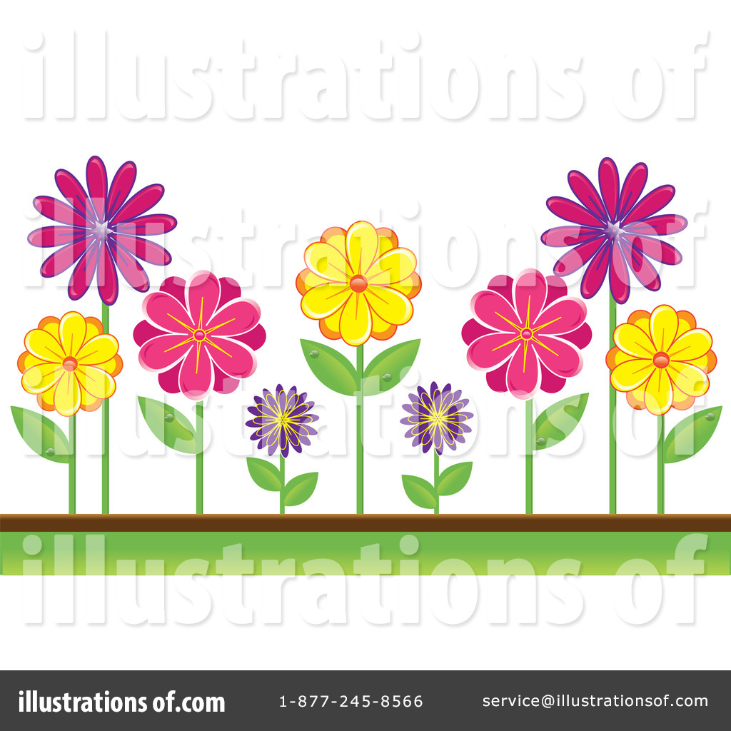 Flower Bed Clipart Flowers Clipart 1096291