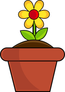 Flower Pot Clipart   Clipart Best