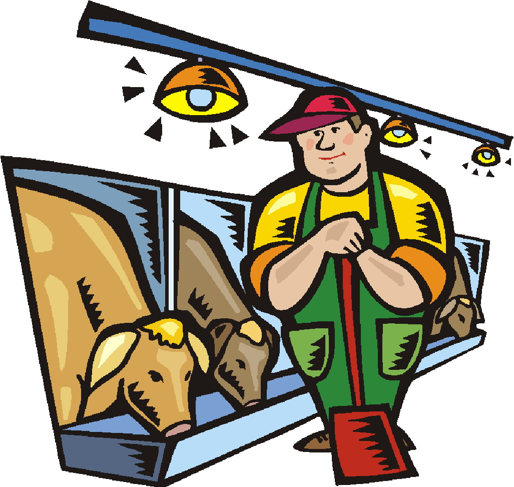 Go Back   Pix For   Farmer With Cow Clip Art