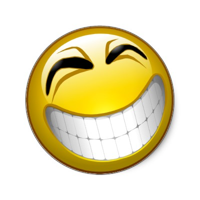 Goofy Happy Face   Clipart Best