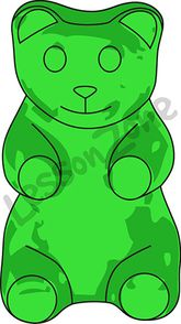 Clip Art Gummy Bear Clipart gummy bear clipart kid sweets