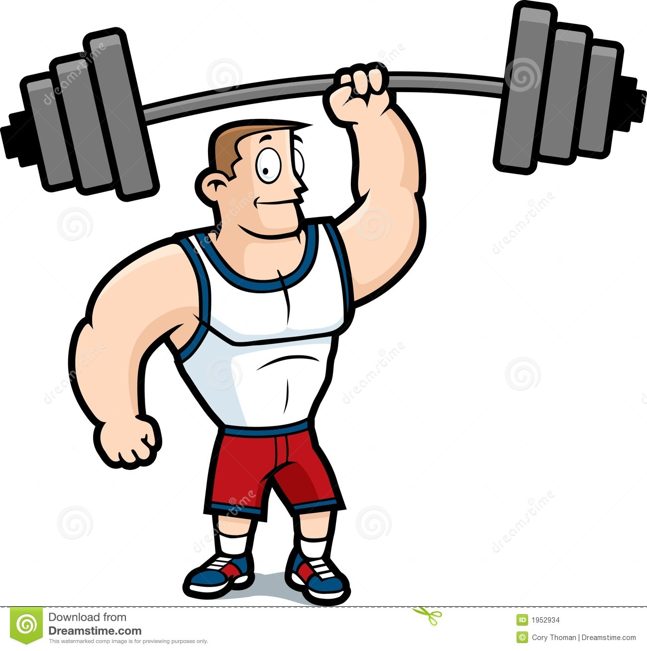 Gym Guy Stock Images   Image  1952934
