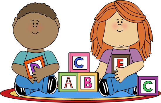 Playing Kindergarten Clipart - Clipart Kid