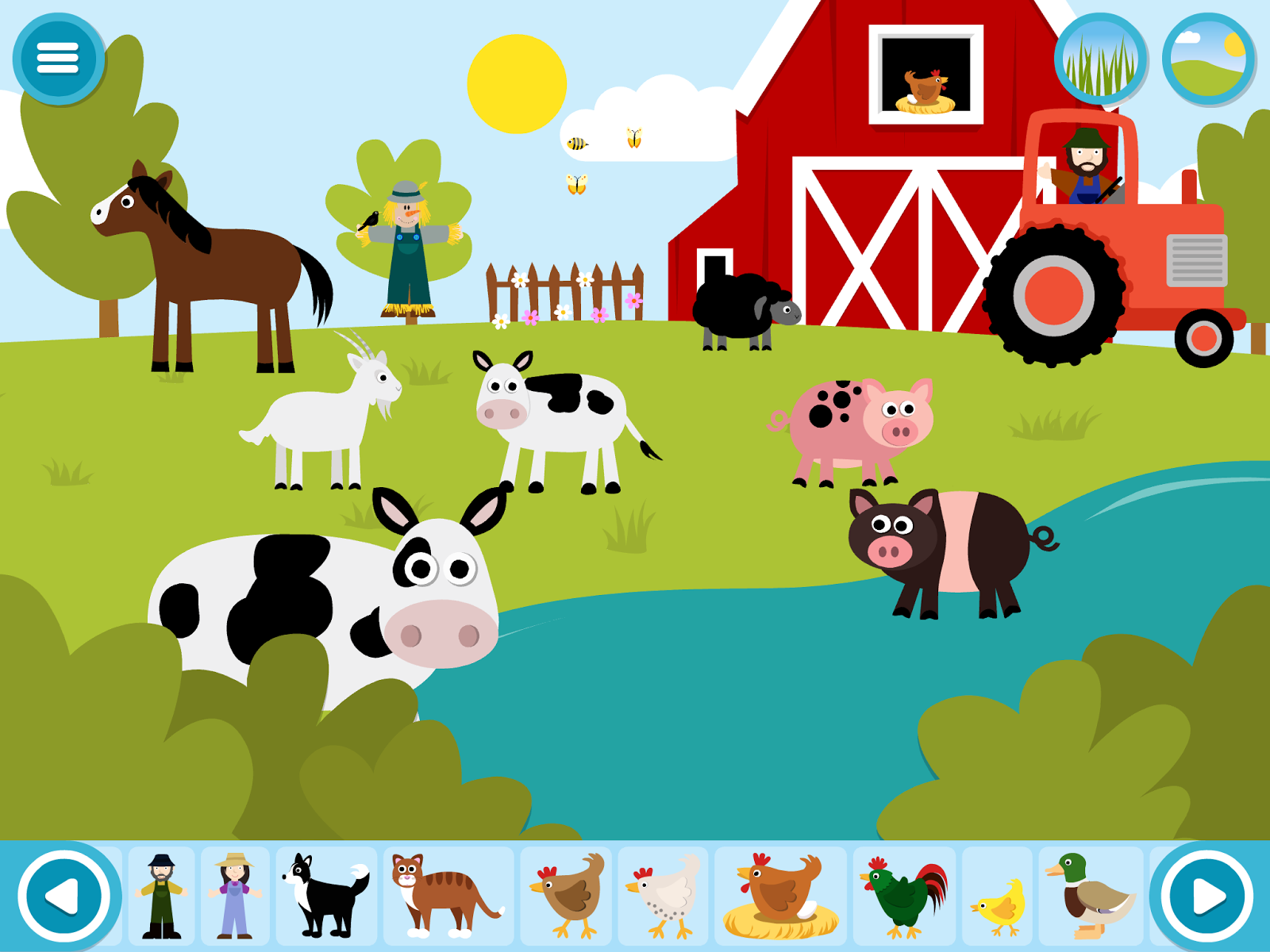 Make A Scene  Farmyard
