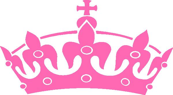 Pink Haley Tiara Princess Clip Art At Clker Com Vector