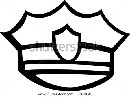 Police Officer Hat Clipart   Clipart Panda   Free Clipart Images