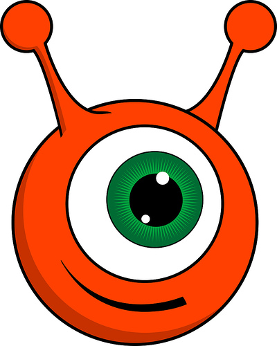 Cute Alien Clipart - Clipart Kid