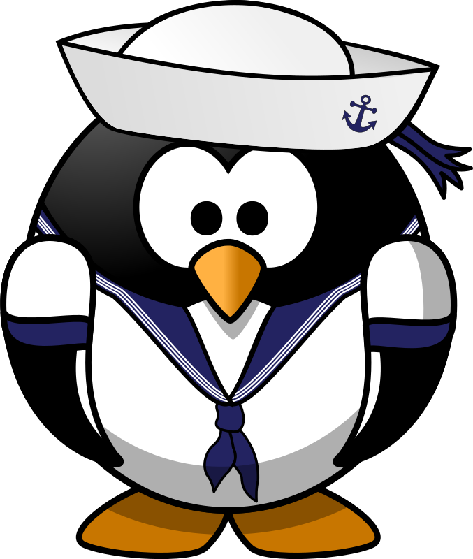 Sailor Penguin By Moini   This Little Penguin Sails The Seven Seas And