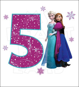 Showing Gallery For Happy 5th Birthday Frozen Images