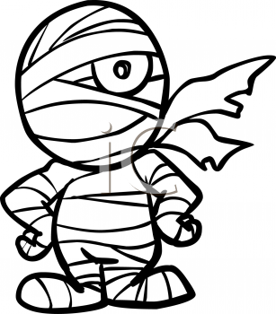 This Cute Mummy Clipart