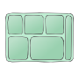 Tray Outline For Classroom   Therapy Use   Great Lunch Tray Clipart