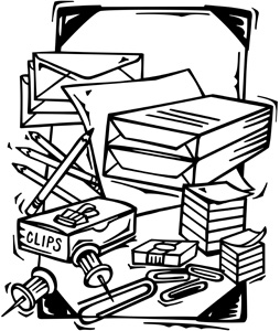 Administration Clipart Office Supplies Jpg