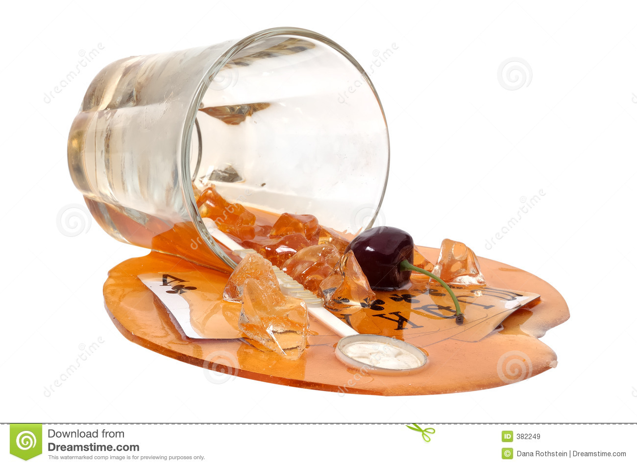 Spilled Drink Stock Photography - Image: 37912332