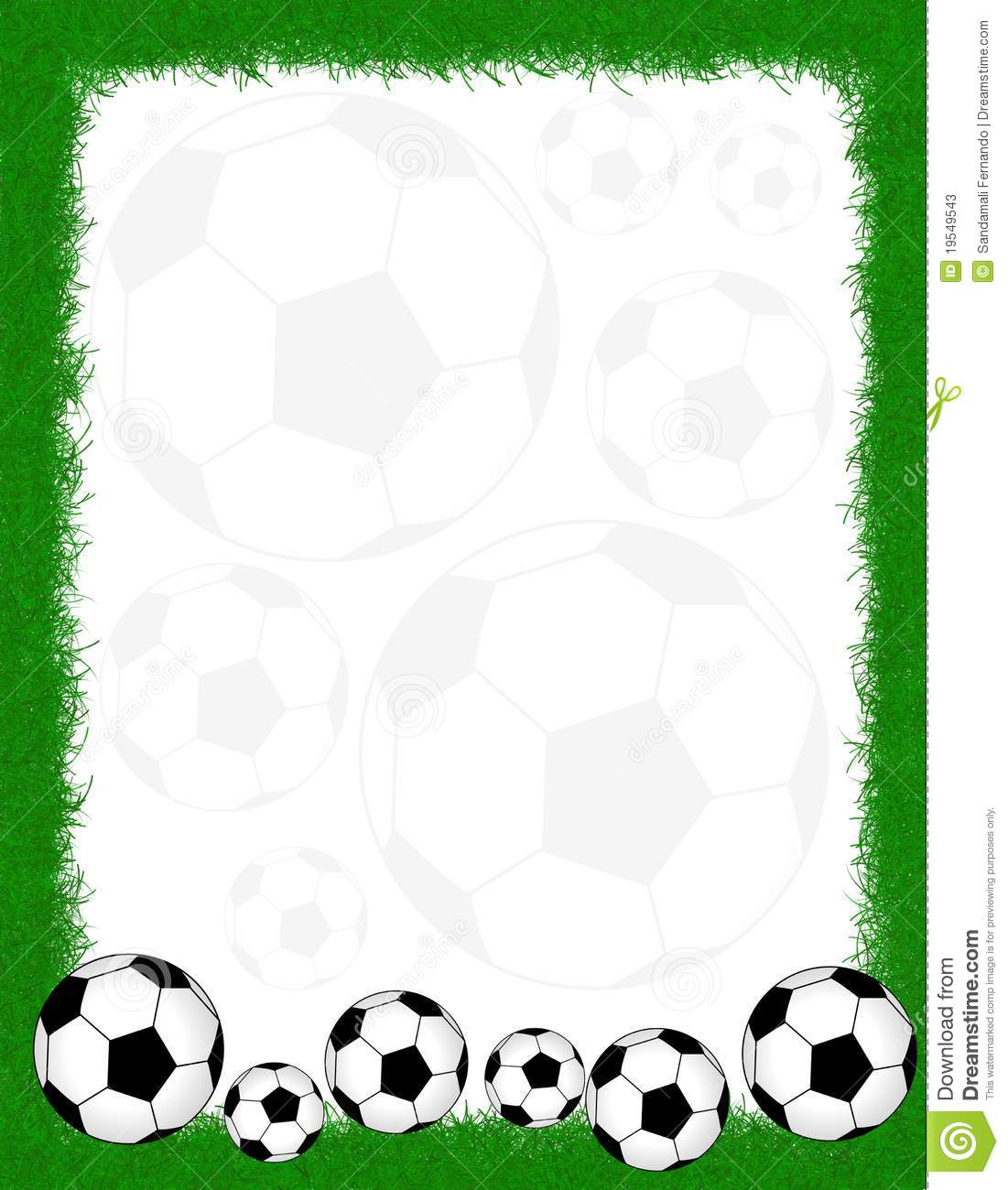 football borders and frames soccer frame border 19549543 jpg