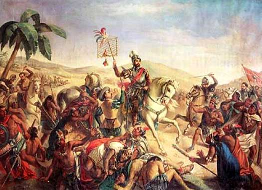cortes and pizarro easily conquered the Spaniard francisco pizarro has gone down in history as the man who conquered of hernan cortes' conquest of of cortes that inspired pizarro and.