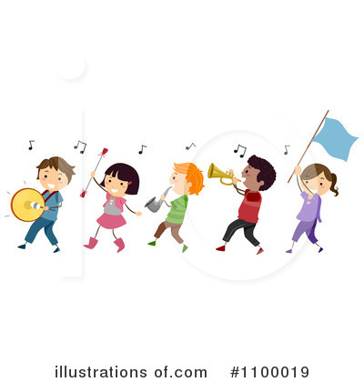 Kids Rock Band Clipart Royalty Free  Rf  Band Clipart