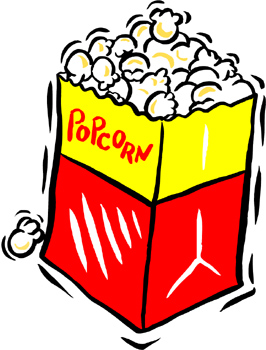 Movie Theater Popcorn Clipart   Clipart Panda   Free Clipart Images