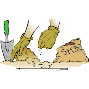 Planted Seeds In Soil Clipart - Clipart Kid