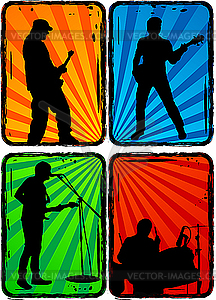 Rock Band Clipart Rock Band   Vector Eps Clipart