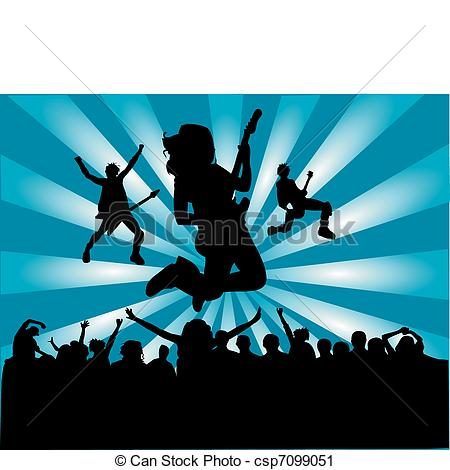 Rock Band Clipart Rocking Clipart  Rock Group