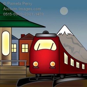 Train Depot Clipart