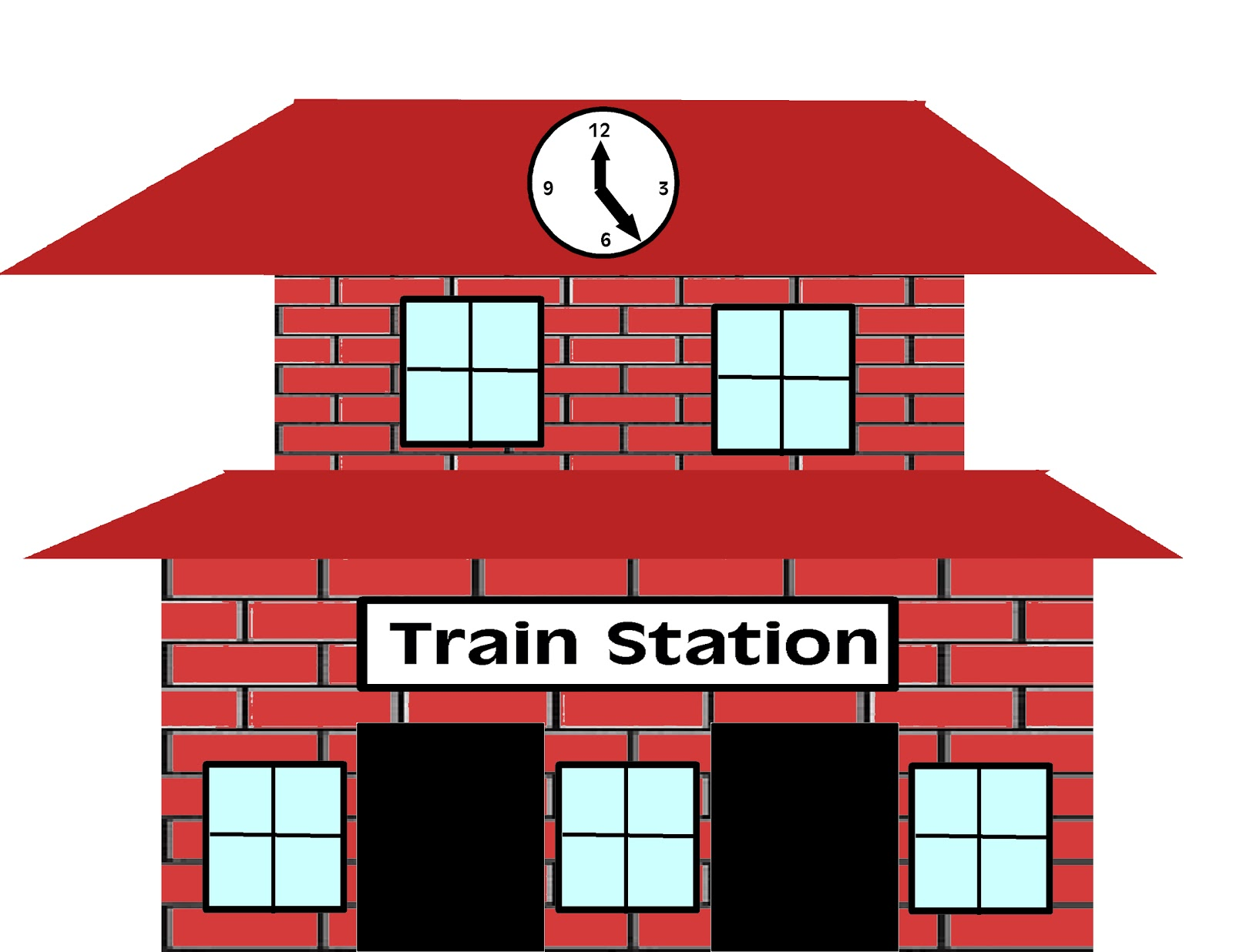 Train Station Clipart Train Station Clip Art Free