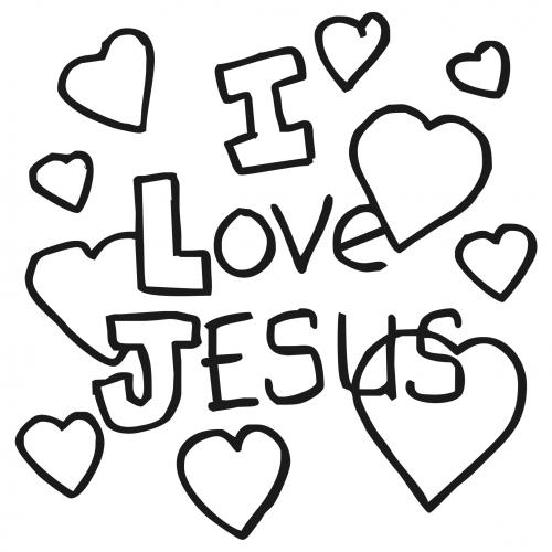 Clipart   Design Ideas  Clipart   Religious   I Love Jesus