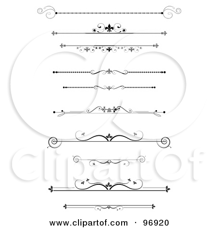Clipart Page Dividers Lines And Bars #j4EGyb - Clipart Kid
