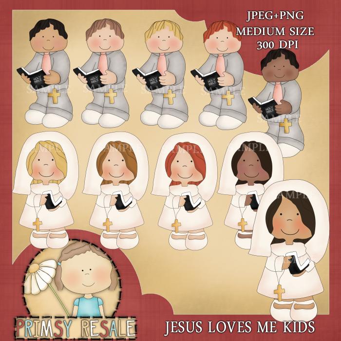 Doodle Designs    Christian Clipart    Jesus Loves Me Kids Clipart