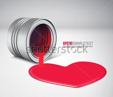 Download Source File Browse   Abstract   Vector Spilled Paint   Love