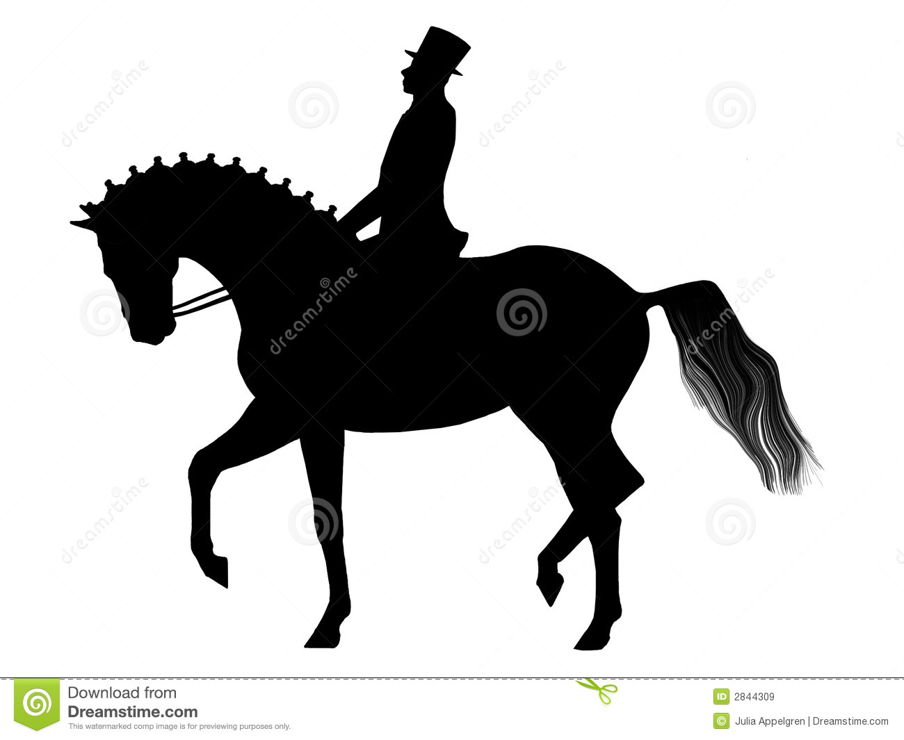 clip art dressage horse - photo #11