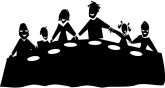 Family Dinner Clipart   Clipart Panda   Free Clipart Images