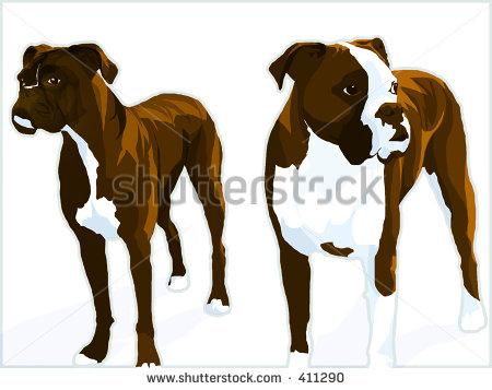 Fawn Greyhound Clipart...
