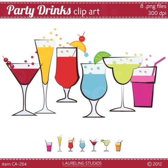 New Year S   3 49 Etsy Laureling Studios  Party  Clipart  Newyearseve