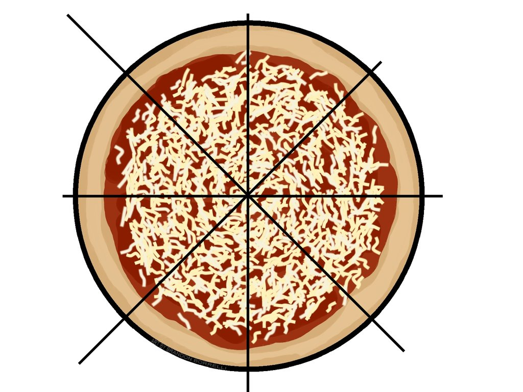 Pizza Fractions Clipart Pizza Fraction Practice By