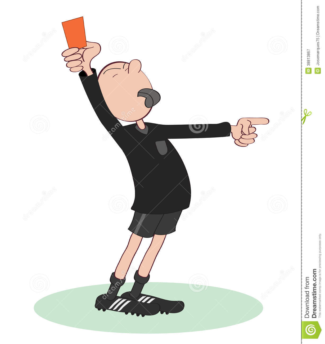 Soccer Referee Clipart - Clipart Suggest