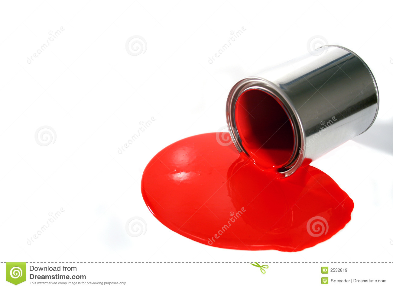 Spilled Paint Pail Royalty Free Stock Images   Image  2532819